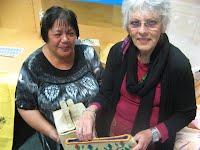 No'orangi Puleosi, Cook Island coordinator and friend starting their kitchen set up