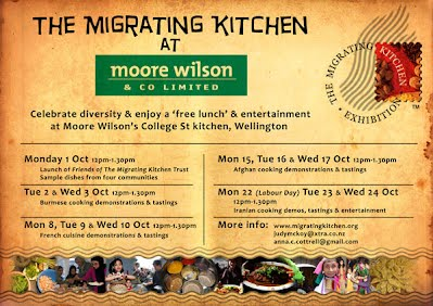 Migrating Kitchen at Moore Wilson's